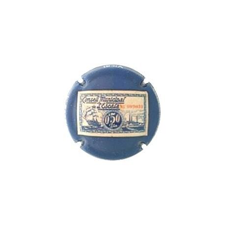 Vicat X 086241 0.50 Pesetas L'Escala