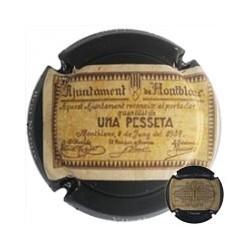 Vicat X 175704 1 Pesseta - Montblanc