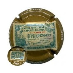 Vicat 19210 X 068654 1 Pesseta - S. Sadurní d'Anoia