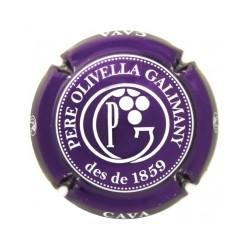 Pere Olivella Galimany X 117477 lila metailzado