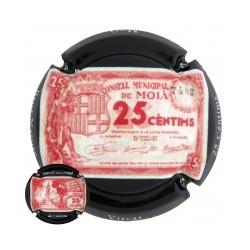 Vicat X 167333  25 Céntims - Moià